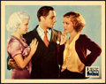 "Movie Posters:Drama, Platinum Blonde (Columbia, 1931). Lobby Card (11"" X 14"").. ..."
