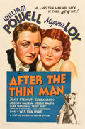 "Movie Posters:Mystery, After the Thin Man (MGM, 1936). One Sheet (27"" X 41"") Style C.. ..."