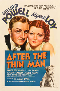 """After the Thin Man (MGM, 1936). One Sheet (27"""" X 41"""") Style C"""