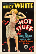 "Movie Posters:Comedy, Hot Stuff (First National, 1929). One Sheet (27"" X 41"") Style B....."