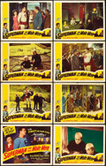 "Movie Posters:Serial, Superman and the Mole Men (Lippert, 1951). Lobby Card Set of 8 (11""X 14"").. ... (Total: 8 Items)"