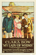 "Movie Posters:Drama, My Lady of Whims (Arrow, 1925). One Sheet (27"" X 41"").. ..."
