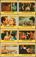 "Movie Posters:Hitchcock, To Catch a Thief (Paramount, 1955). Lobby Card Set of 8 (11"" X14"").. ... (Total: 8 Items)"