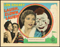 "Movie Posters:Drama, Laugh, Clown, Laugh (MGM, 1928). Lobby Card (11"" X 14"").. ..."