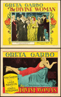 "Movie Posters:Drama, The Divine Woman (MGM, 1928). Title Lobby Card and Lobby Card (11""X 14"").. ... (Total: 2 Items)"