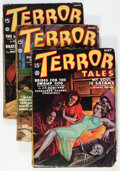 Pulps:Horror, Terror Tales '36 Group (Popular, 1936) Condition: Average VG....(Total: 5 Items)