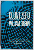 Books:Science Fiction & Fantasy, William Gibson. SIGNED. Count Zero. Gollancz, 1986. First British edition, first printing. Signed by the author. ...