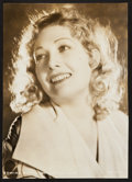 "Movie Posters:Adventure, Edwina Booth (MGM, 1932). Portrait Photo (9"" X 12.5""). Adventure....."