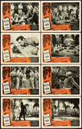 "Movie Posters:Science Fiction, Fire Maidens of Outer Space (Topaz, 1956). Lobby Card Set of 8 (11""X 14"").. ... (Total: 8 Items)"