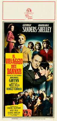 "Village of the Damned (MGM, 1960). Italian Locandina (13"" X 27.5"")"