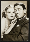 "Movie Posters:Comedy, Jean Harlow and Spencer Tracy in Libeled Lady (MGM, 1936). PortraitPhoto (8.75"" X 12.5""). Comedy.. ..."