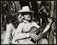 """Ann Sheridan and James Cagney in Torrid Zone by Madison Lacy (Warner Brothers, 1940). Portrait Photo (10.5"""" X 13.5&..."""