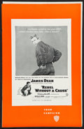 """Movie Posters:Drama, Rebel without a Cause (Warner Brothers, 1955). Uncut Pressbook (20Pages, 11"""" X 17""""). Drama.. ..."""