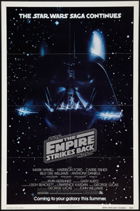 "The Empire Strikes Back (20th Century Fox, 1980). One Sheet (27"" X 41"") Advance. Science Fiction"