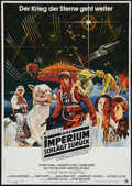 "Movie Posters:Science Fiction, The Empire Strikes Back (20th Century Fox, 1980). German A1 (23"" X33""). Science Fiction.. ..."