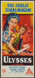 "Movie Posters:Adventure, Ulysses (IFD, 1955). Australian Daybill (13"" X 30""). Adventure....."