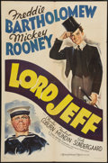"""Movie Posters:Drama, Lord Jeff (MGM, 1938). One Sheet (27"""" X 41""""). Style D. Drama.. ..."""