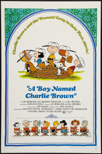 """A Boy Named Charlie Brown (National General, 1969). One Sheet (27"""" X 41""""). Animation"""