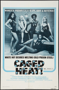 """Caged Heat & Other Lot (New World, 1974). One Sheets (2) (27"""" X 41""""). Bad Girl. ... (Total: 2 Items)"""