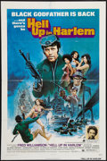 "Movie Posters:Blaxploitation, Hell Up in Harlem & Other Lot (American International, 1973).One Sheets (2) (27"" X 41""). Blaxploitation.. ... (Total: 2 Items)"