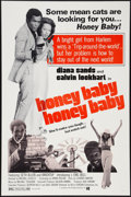 "Movie Posters:Blaxploitation, Honeybaby, Honeybaby (Kelly-Jordan Enterprises, 1974). One Sheet (27"" X 41""). Blaxploitation.. ..."