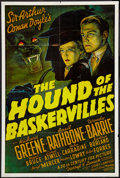 "Movie Posters:Mystery, The Hound of the Baskervilles (20th Century Fox, R-1970s). OneSheet (24.5"" X 36.5""). Mystery.. ..."
