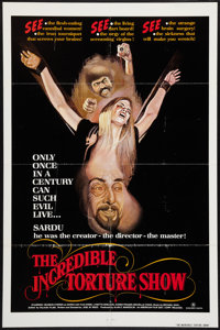 "The Incredible Torture Show (AFDC, 1976). One Sheet (27"" X 41""). Horror"