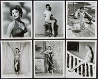 """Pin-Up Lot (Universal, 1946-1956). Pin-Up Photos (12) (8"""" X 10""""). Miscellaneous. ... (Total: 12 Items)"""