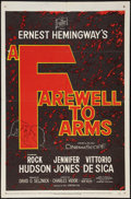 """Movie Posters:War, A Farewell to Arms (20th Century Fox, 1958). One Sheet (27"""" X 41"""").War.. ..."""