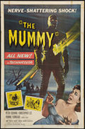 "Movie Posters:Horror, The Mummy (Universal International, 1959). One Sheet (27"" X 41""). Horror.. ..."