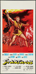 "Movie Posters:Action, Spartacus (CIC, R-1962). Italian Locandina (13"" X 27.5""). Action....."
