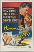 "Movie Posters:Drama, Written on the Wind (Universal International, 1956). One Sheet (27""X 41""). Drama.. ..."