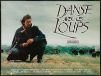 "Dances with Wolves (Majestic, 1991). French Affiche (23.5"" X 31.5""). Western"