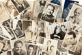 Memorabilia:Movie-Related, Male Movie Star Photo Group (1920s-70s).... (Total: 150 Items)
