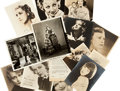 Memorabilia:Movie-Related, Movie Actress Autographed Photo Group (1920s-80s).... (Total: 15Items)