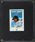 Baseball Collectibles:Others, Mickey Mantle Signed Postcard....