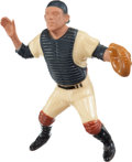 Baseball Collectibles:Hartland Statues, Vintage 1958-62 Hartland Statue - Yogi Berra, Without Mask. ...