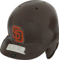 Baseball Collectibles:Hats, Circa 1989 Joey Cora Game Worn San Diego Padres Helmet....