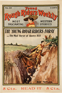 Young Rough Riders Weekly #39 Poster (Street and Smith, c. 1905)