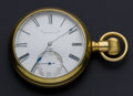 Timepieces:Pocket (post 1900), Lancaster 11 Jewel 18 Size Pocket Watch. ...