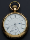 Timepieces:Pocket (post 1900), Illinois 11 Jewel Private Label Transitional Pocket Watch. ...