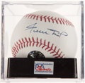 Autographs:Baseballs, Willie Mays Single Signed Baseball, PSA Gem Mint 10. ...