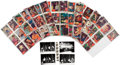 Music Memorabilia:Memorabilia, Elvis Presley Bubbles Inc. Gum Card Set of 66 (1956).... (Total: 2 Items)