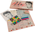 Music Memorabilia:Memorabilia, The Elvis Presley Game Boxed Board Game (Teen-Age Games,Inc., 1957)....