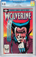 Modern Age (1980-Present):Superhero, Wolverine (Limited Series) #1 (Marvel, 1982) CGC NM/MT 9.8 Whitepages....