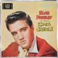 Music Memorabilia:Recordings, Elvis Presley King Creole Sealed LP (RCA 1884, 1958)....