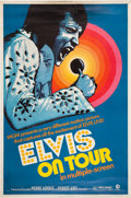"Music Memorabilia:Posters, Elvis Presley Elvis on Tour 40"" x 60"" Movie Poster (MGM,1972)...."