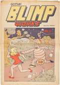 Silver Age (1956-1969):Alternative/Underground, Gothic Blimp Works #5 (East Village Other, 1969) Condition:VG/FN....
