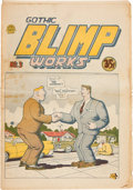 Silver Age (1956-1969):Alternative/Underground, Gothic Blimp Works #3 (East Village Other, 1969) Condition: VG+....