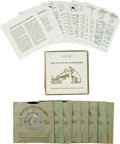 Music Memorabilia:Recordings, Elvis Presley The Sound Of Leadership Box Set...